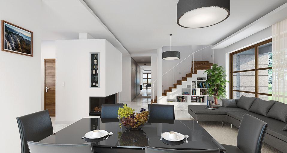 Projekt domu E-106 Podmiejska rezydencja