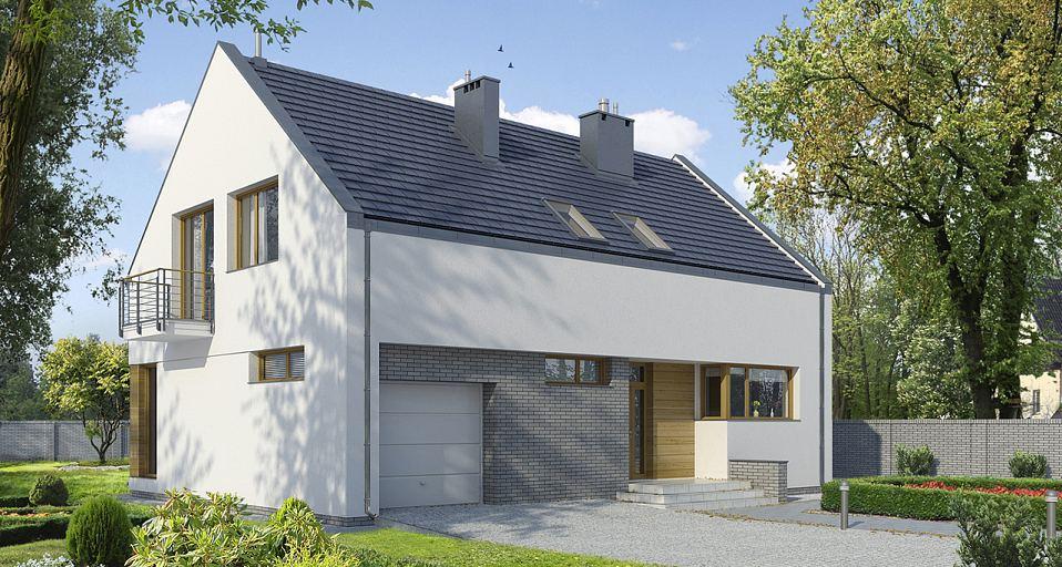 projekty domów parterowych i piętrowych