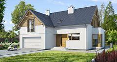 Projekt domu E-103 Tradycyjny projekt domu