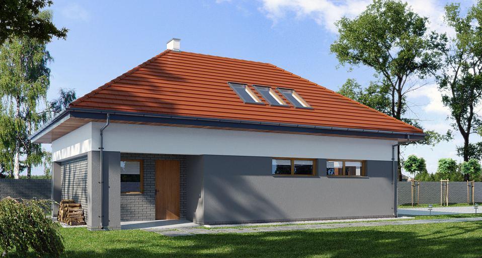 Projekt domu Budynek gospodarczy E-G1