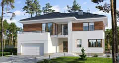 Projekt domu E-149 Komfortowa rezydencja