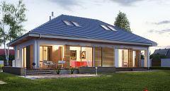 Projekt domu E-155 Mały dom parterowy