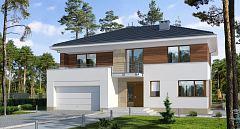 Projekt domu E-150 Mała rezydencja