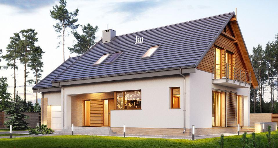 Projekt domu Prosty dom dwuspadowy E-193