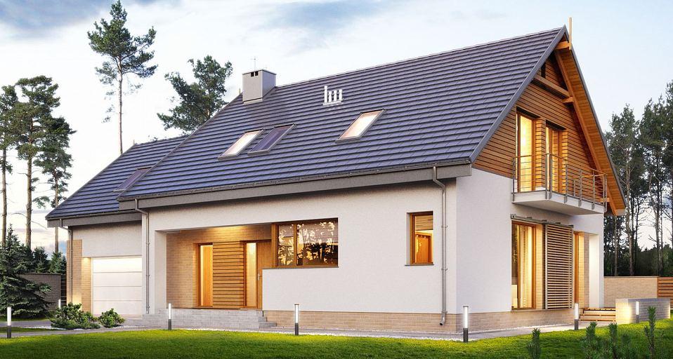 Projekt domu Prosty dom komfortowy E-195