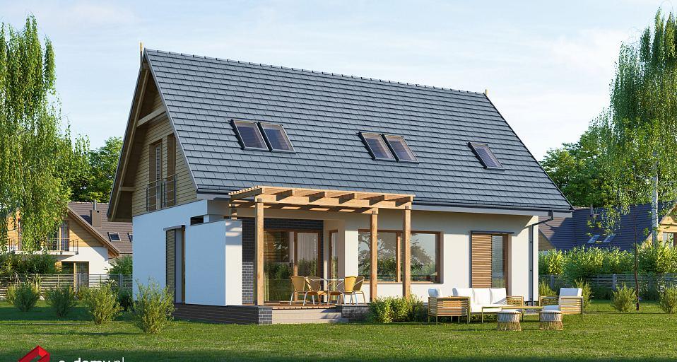 Projekt domu Mały dom z widokiem E-221