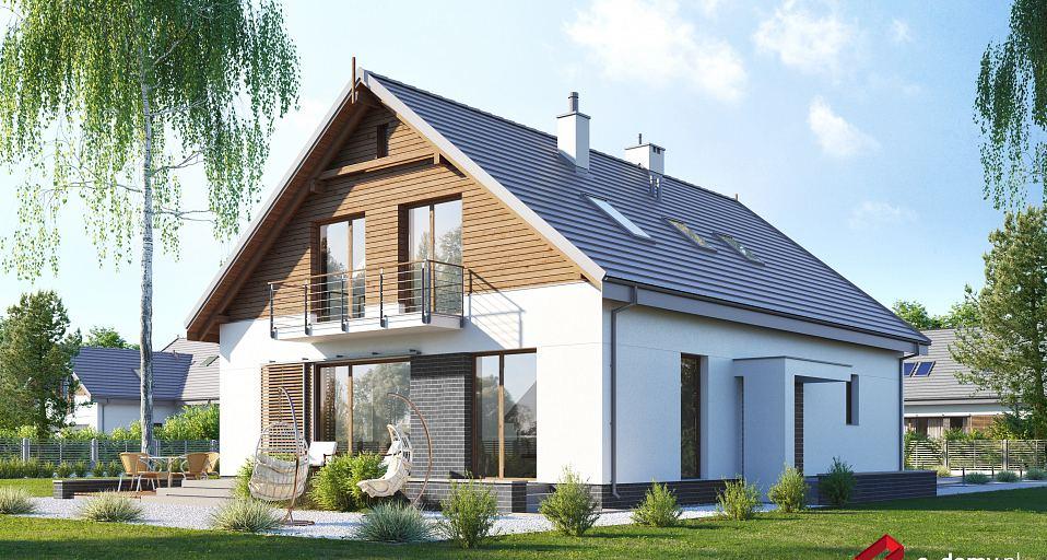Projekt domu Prosty dom z poddaszem E-223