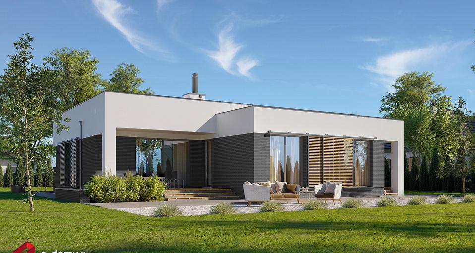 Projekt domu Dom parterowy z trzema sypialniami E-145