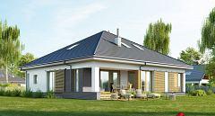 Projekt domu E-230 Mały dom symetryczny