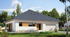 Projekt domu E-179 Symetryczny dom parterowy