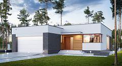 Projekt domu E-234 Nowoczesny dom dla licznej rodziny