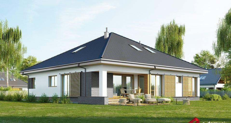 Projekt domu Dom parterowy z gabinetem E-235
