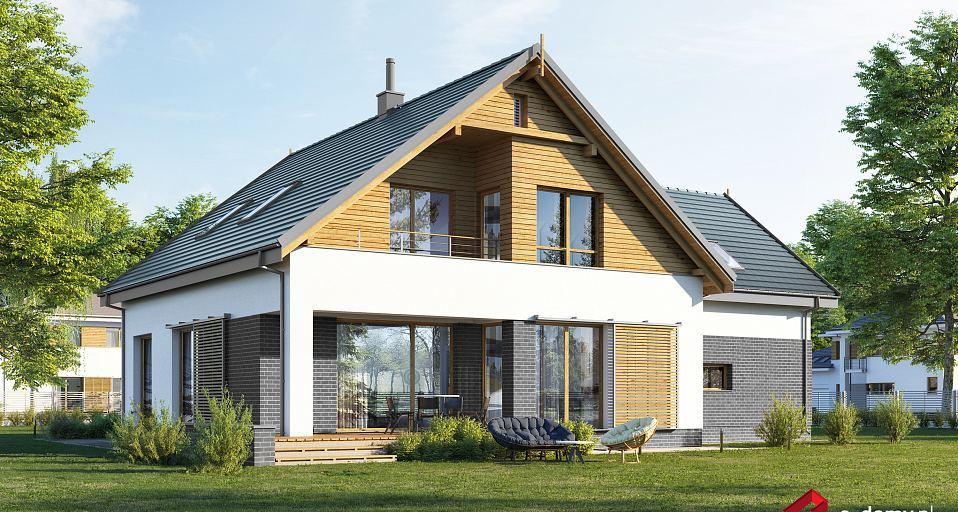 Projekt domu Dom z dwuspadowym dachem E-237