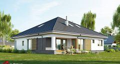 Projekt domu E-238 Funkcjonalny dom parterowy