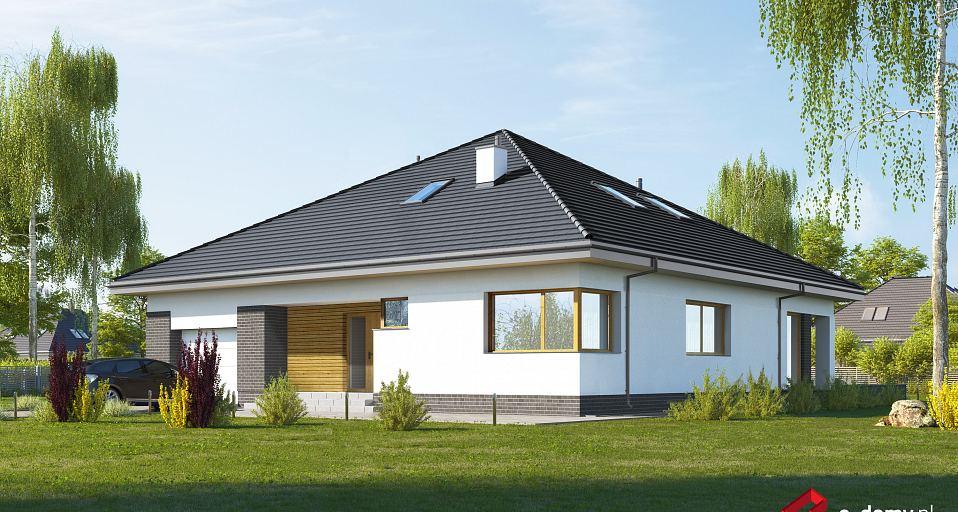 Projekt domu Wygodny dom symetryczny E-239