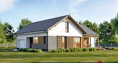 Projekt domu E-248 Dom parterowy