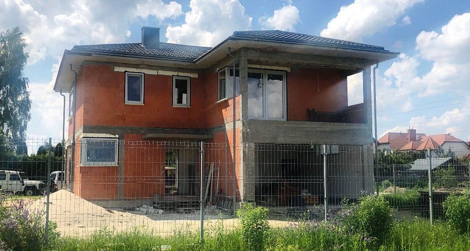 Projekt domu E-162 Rezydencja na wąską działkę