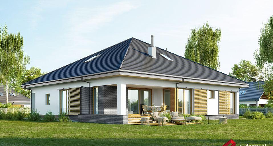 Projekt domu Funkcjonalny dom parterowy E-261